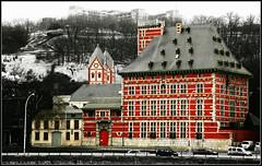 Le Palais Curtius abritant le Musée Grand Curtius, la Collégiale Saint-Barthélemy, la Citadelle, Liège, Belgium (claude lina) Tags: architecture belgium belgique musée meuse liège citadelle paysageurbain grandcurtius collégialesaintbathélemy architecturemosane palaiscurtius jeandecorte