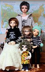 Funny family :-) (old-hren) Tags: boy girl kids aiden eric child bjd luts pado vito quintus lio jid dollmore iplehouse 5stardolls