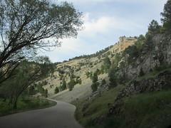 Road into Cañón del Río Lobos, Spain (Paul McClure DC) Tags: españa spain scenery geology castile castillayleón cañóndelríolobos june2014