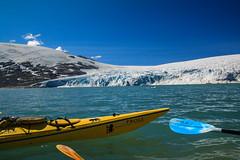 Paddeltour-Norwegen (b.stanni) Tags: lake mountains nature landscape see norge natur norwegen glacier berge gletscher eis landschaft kajak paddeln