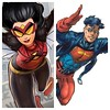 "One is classic superhero whose new outfit makes them look like they are a toolbag stuck in the 90s. The other is in fact from the 90s. #spiderwoman #superboy #marvel #dc #dfatowel • <a style=""font-size:0.8em;"" href=""http://www.flickr.com/photos/125867766@N07/15864443418/"" target=""_blank"">View on Flickr</a>"