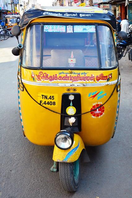 India - Tamil Nadu - Trichy - Tuk Tuk
