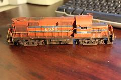 KB&S HO Scale Atlas project (Jesse B - IL) Tags: scale train project atlas ho kbs alco