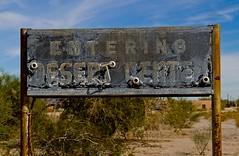 Desert Center - Desert Steve Ragsdale - Life along Chuckawala Rd - LRN 64 and then US 60-70 and I-10
