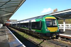 170631 - Shrewsbury (AJHigham) Tags: city london station birmingham class shrewsbury service lm midland 170 turbostar dmu 1706 liveried 170631