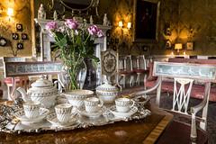 tea for... four (Cranswick852) Tags: stilllife canon tea nt canon5d statelyhome nationaltrust dyrhampark 2470 5039 canon5dmkiii canon5dmk3