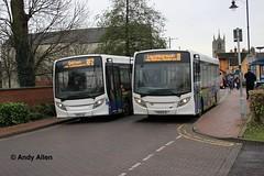 Centrebus 501 & 506 YX13EJA  YX13EJC (Andy4014) Tags: enviro melton mowbray shorelink centrebus yx13ejc yx13eja