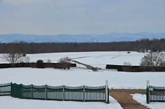 Blue Ridge view (afagen) Tags: orange mountain snow virginia blueridgemountains montpelier jamesmadison montpelierstation jamesmadisonsmontpelier