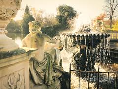 Kensington Garden (Blasq) Tags: park light london statue kensington