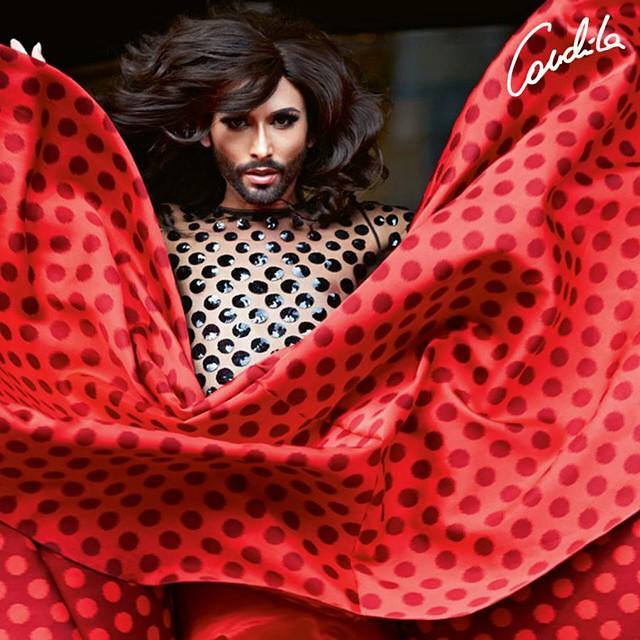#ขอโทษนะ..ขอพื้นที่ไม่แม่ชั้นนิดนึง.#conchita nathan #nathan conchita #conchita wurst #Fashion photos by Maria Ziegelböck in todays @derStandardat RONDO + interview + video! #ดาวตัดชุดแดง #ดาวสั่งตัดชุดนี้แล้วค่ะ #ดาวพักบ้างอะไรบ้าง #อย่าได้แคร์เจ้าค่ะ