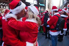 Santacon 2014 New York City (Anthony Quintano) Tags: christmas nyc holidays timessquare santaclaus santacon 2014