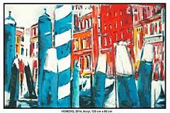 VENEDIG (Acrylmalerei) (CHRISTIAN DAMERIUS - KUNSTGALERIE HAMBURG) Tags: berlin rot münchen deutschland wasser hamburg gelb motive grün blau hafen schwarz elbe bilder hamburgerhafen hafencity malerei weis hafenhamburg elbphilharmonie mieten kunstdrucke galeriehamburg auftragsmalereihamburg damerius hamburgerkünstler malereihamburg bilderleasen landschaftennorddeutschlands kunstgaleriehamburg bilderwerkhamburg galerieninhamburg acrylmalereihamburg kunstgalerienhamburg
