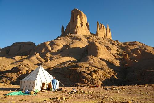 Vom Jebel Sarhro in die Wüste