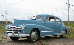 1948 Pontiac Silver8Streak (crusaderstgeorge) Tags: 1948 pontiac classiccars americancars bluecars americanclassiccars silver8streak 1948pontiacsilver8streak