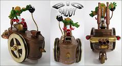 Hot Rod Assemblage Sculpture : Big Daddy (Talbotics) Tags: hotrod beast dragster raked bigdaddy oddrods monstermachine talavitzur