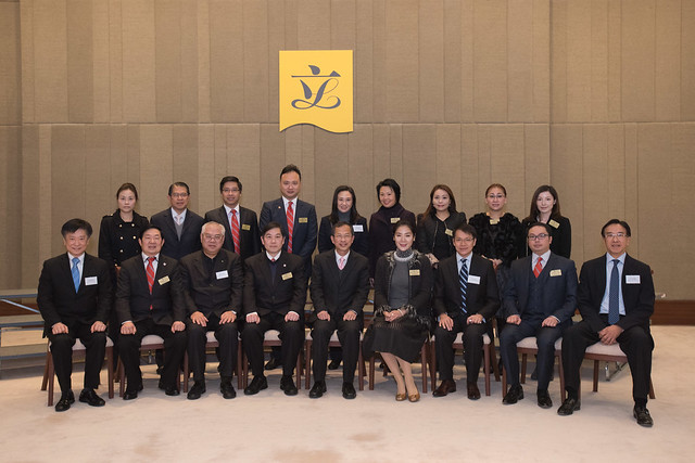 與慈善機構茶聚 Tea reception with charitable organizations (2015.01.12)