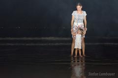 Pulando 7 ondinhas (Stefan Lambauer) Tags: sea brazil baby praia beach brasil mar kid infant br fireworks sopaulo newyear santos criana mame rveillon anonovo fogos gonzaga 2014 catharina 2015 stefanlambauer