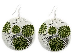 Glimpse of Malibu Green Earrings P5812-1