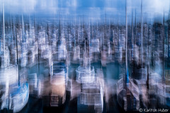 Dana Point Harbor Boats Abstract - 0648 (www.karltonhuberphotography.com) Tags: abstract art water horizontal docks boats harbor movement blurred boating southerncalifornia sailboats impressionistic danapointcalifornia slips 2014 cameramovement danapointharbor sailboatmasts intentionalcameramovement boatinglife creativeeffect nikond7000 karltonhuber