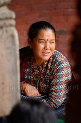 Bhaktapur (Bertrand de Camaret) Tags: nepal portrait woman vertical asia femme ngc asie tradition tika visage nationalgeographic bhaktapur kathmanduvalley tilak 2013 bertranddecamaret