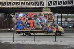Saeio (lepublicnme) Tags: paris france truck graffiti january pal 2015 saeyo saeio palcrew