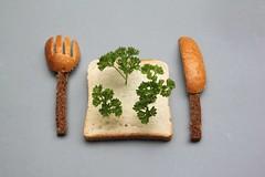 fast food wood (virginhoney) Tags: wood food home studio fun fastfood fast sandwich hungry parsley eatable atelier fastwood