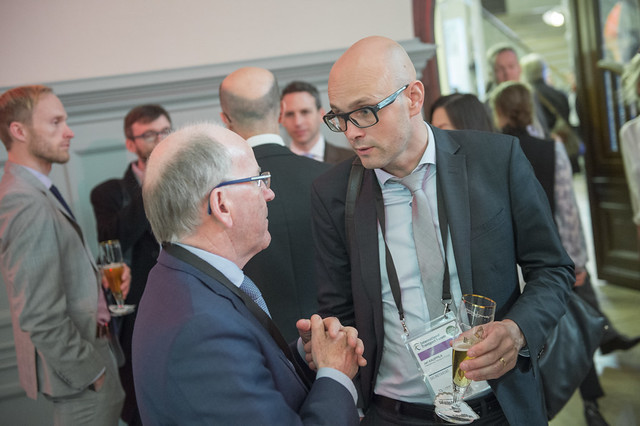Jari Kauppila networks during reception