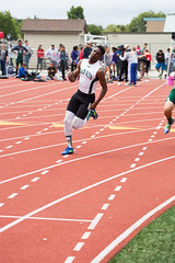 Dami in the 200m (Malcolm Slaney) Tags: track paloalto 200m trackandfield 2016 paly ccspreliminaries