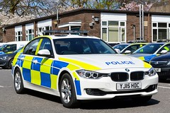 YJ15 HDC (S11 AUN) Tags: road car team traffic yorkshire north police crime bmw vehicle emergency saloon 999 3series nyp 330d xdrive anpr intercept yj15hdc