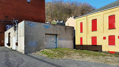 Buildings along East Street (real00) Tags: city urban landscape pittsburgh pennsylvania urbanlandscape westernpennsylvania 2000s 2016 alleghenycounty 2010s pittsburghregion willreal williamreal