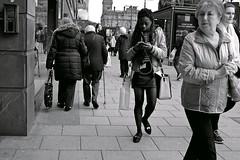 Distractions ... (vmanseventy) Tags: blackandwhite scotland nikon edinburghcastle princesstreet royalmile mound highstreet ricohgr nationalgalleryofscotland rsa stgiles waverley decisivemoment ramsaygarden filmphotography nikonfm nikonf65 rosestreet georgeivbridge sirwalterscottmonument streetcandid 50mmlens edinburghinternationalfestival westprincesstreetgardens tripuk eastprincesstreetgardens peoplephotos playfairsteps lefteyed edinburghstreetphotography fujixpro1 moundsquare olympusbodycaplens fujix100s panasonic20mm17ii robertbmcneill ricohgrd1v panasoniclumixgm11232mmlens fuji27mmlens fuji18mmf2lens scottishstreetphotography