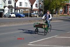 Pedel Power!! 1930's Hardings Delivery Tricycle (erfmike51) Tags: tricycle hcvslondontobrightonrun2016