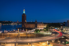 Stockholm City Hall by night (Christopher Anderzon) Tags: longexposure sweden stockholm stockholmcityhall capitalofscandinavia