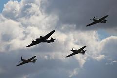 IMG_4520  Bristol Blenheim and Hawker Hurricanes (SomeBlokeTakingPhotos) Tags: duxford warbird secondworldwar imperialwarmuseum battleofbritain worldwar11