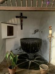 Pila Bautismal de la Iglesia de San Miguel el Alto en Toledo (leytol) Tags: temple iglesia toledo sanmiguel templarios sanmiguelelalto