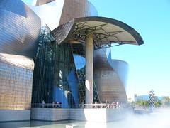 Guggenheim (Giulia Gangemi) Tags: sky beautiful museum architecture modern landscape design spain europe gehry bilbao