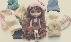 Blythe Beanie Hat Tutorial (HaleighCreatesKawaii) Tags: hat fashion outfit doll factory style bjd blythe how beanie tutorial youtube azone ootd