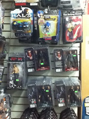 NECA Terminator action figures (splinky9000) Tags: toronto canada comic book store action figures toys halo 3 mcfarlane spartan helmets the rolling stones keith richards medicom neca iggy pop terminator 1984 t800 police station assault battle damaged tech noir judgement day 1991 t1000 steel mill robert patrick arnold schwarzenegger sega jakks sonic hedgehog classic 20th anniversary