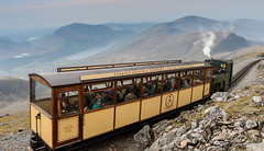 Snowdon Mountain Railway (Zaphod Beeblebrox 1970) Tags: uk wales train pin lily steam snowdon locomotive enid