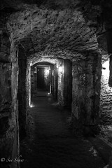 Under city vault. (Sue_Shaw) Tags: urban stone canon underground scotland edinburgh tunnel doorway cave archway tunnels canoneos urbex vaults canon60d