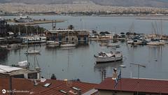 Evening falls at Kastella (nikhrist) Tags: sea port boats evening greece piraeus attiki kastella nickchristodoulou