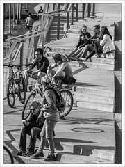 On the Stairs (amanessinger) Tags: blackandwhite austria krnten carinthia villach manessingercom