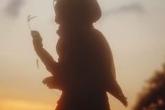 Ramadan Kareem! (Januarain Photography) Tags: januarain photo photography tumblr flickr muslim muslimgirl canon 85mm ramadan girl sunset summer sunshine goldenhour hijab asiangirl asian afternoon indonesia indonesian silhouette