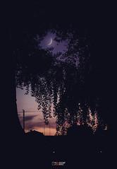 Un anochecer cualquiera de (casi) verano (Yezrael Pérez) Tags: sunset urban naturaleza moon nature luna contraste puestadesol anochecer astgronomy astronomicalastro