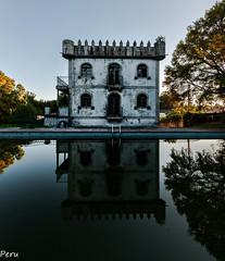 Mirror (Perurena) Tags: reflection tower water casa arquitectura agua torre decay piscina reflejo torreon abandono urbex mansin swiningpool urbanexplore hosuse