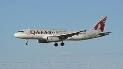 Qatar Airways Doha - Budapest A320 A7-AHR (KristofCs) Tags: landing airways approaching doha qatar a320 oneworld a7ahr qr201 qatarairwaysbudapest