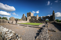 Beside The Rock (Ray Moloney Photography) Tags: county old ri travel blue ireland sky building tourism church abbey architecture clouds century ancient chapel eire na hore benedictine cistercian 13th tipperary 15th cashel transept 500px ifttt casiseal
