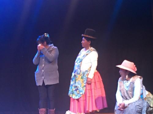 Presentación de la obra teatral KUSISITA (Felicidad)