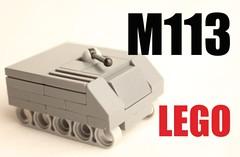 micro lego 113 (mrripleyx) Tags: lego tank micro