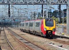 Class 221 at Lichfield. (curly42) Tags: transport railway virgin voyager express unit dmu vwc class221 lichfieldtrentvalley 2211x5